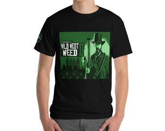 Wild West Weed Short Sleeve Gamers T-Shirt