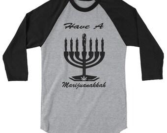Marijuana Hanukkah T-shirt