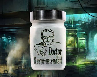 Doctor Recommended Stash Jar - Weed Accessories - Stoner Gifts - Weed Gifts for Stoners