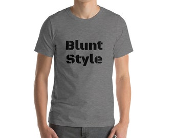 Men's Blunt Style Short-Sleeve Weed T-Shirt, Stoner Shirt