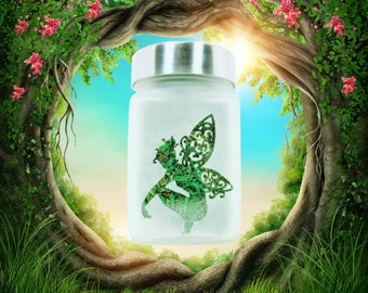 Fairy Stash Jar - Weed Accessories, Stoner Girl Gifts and Stash Jars - Weed Jars, Cool Stash Jars, Stoner Accessories, Ganja Gifts for Her