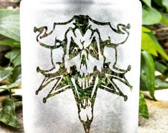 Joker Skull Stash Jar - Weed Accessories, Stash Jar and Stoner Gear - Stoner Gifts, Weed Jars