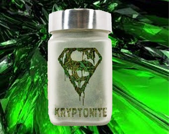 Kryptonite Stash Jar