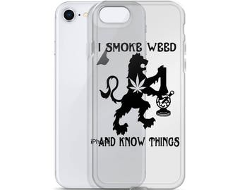 Game Of Thrones Inspired IPhone Case - Stoner Accessories - Weed Gifts - Weed Accessories - Weed Phone Case