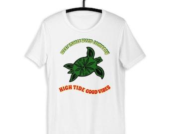 High Tides, Good Vibes Short Sleeve T-Shirt