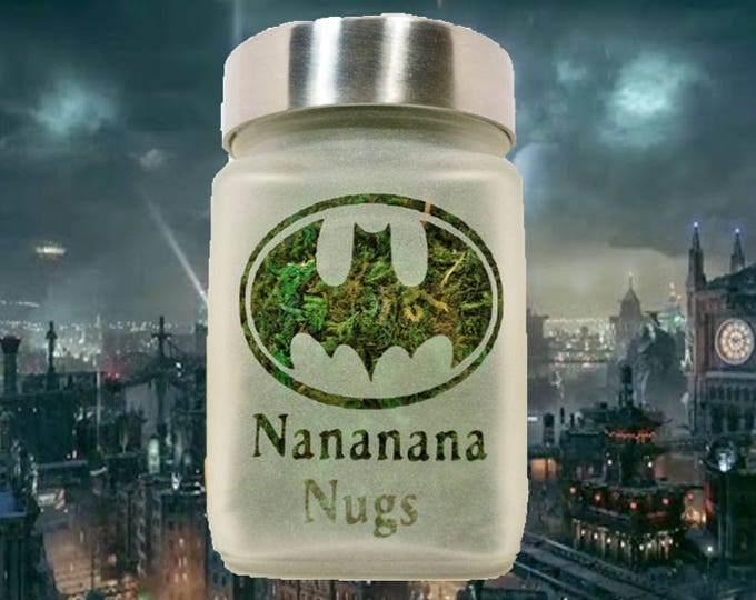 Batman Stash Jar - Nananana Nugs