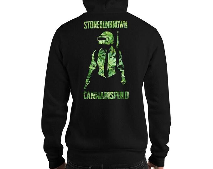 Men's 420 Gaming Hoodie, Twisted420Gaming Sweatshirt Stoner Unknown Design, Unisex Streetwear - Marijuana Clothing, Sizes Up To 5XL