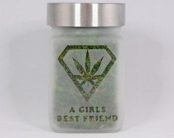 Stash Jar - A Girls Best Friend
