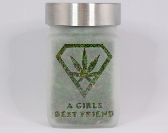 Stash Jar - A Girls Best Friend