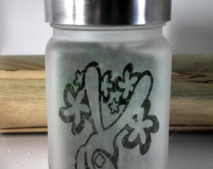 Weed Stash Jar - Stoner Girl Weed Accessories and Cannabis Gifts for Her - Weed Stash Jars - Marijuana Jar