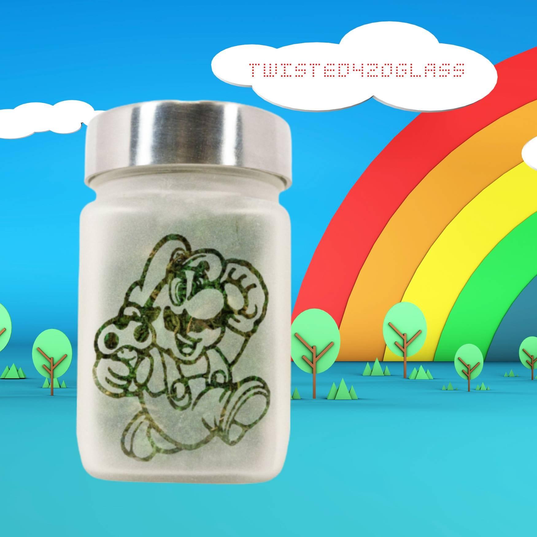 8bit Gamer Gifts Stash Jars Weed Gifts