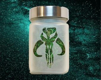 Boba Fett Star Wars Stash Jar