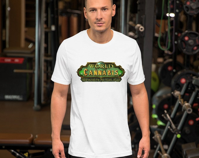 Twisted420Gaming Short-Sleeve Unisex T-Shirt World of Cannabis, The Crusade for the Dank Haze