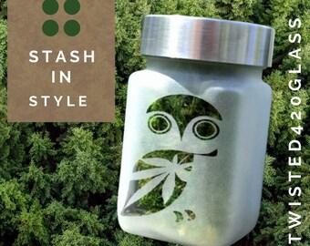 Owl Stash Jar