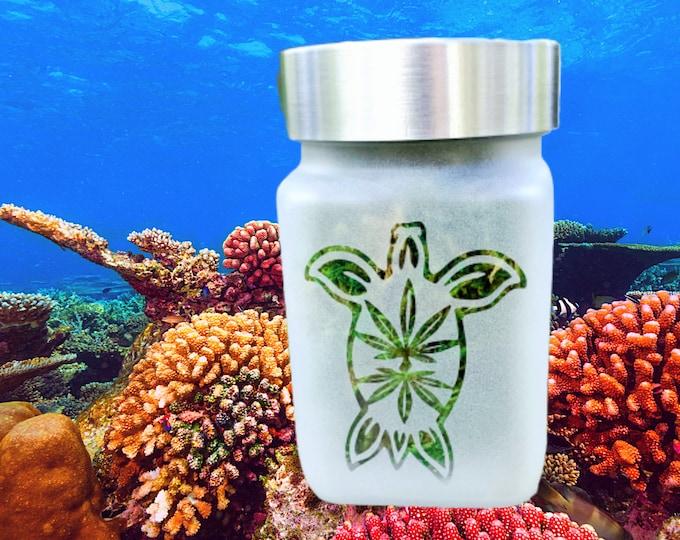 Sea Turtle Stash Jar