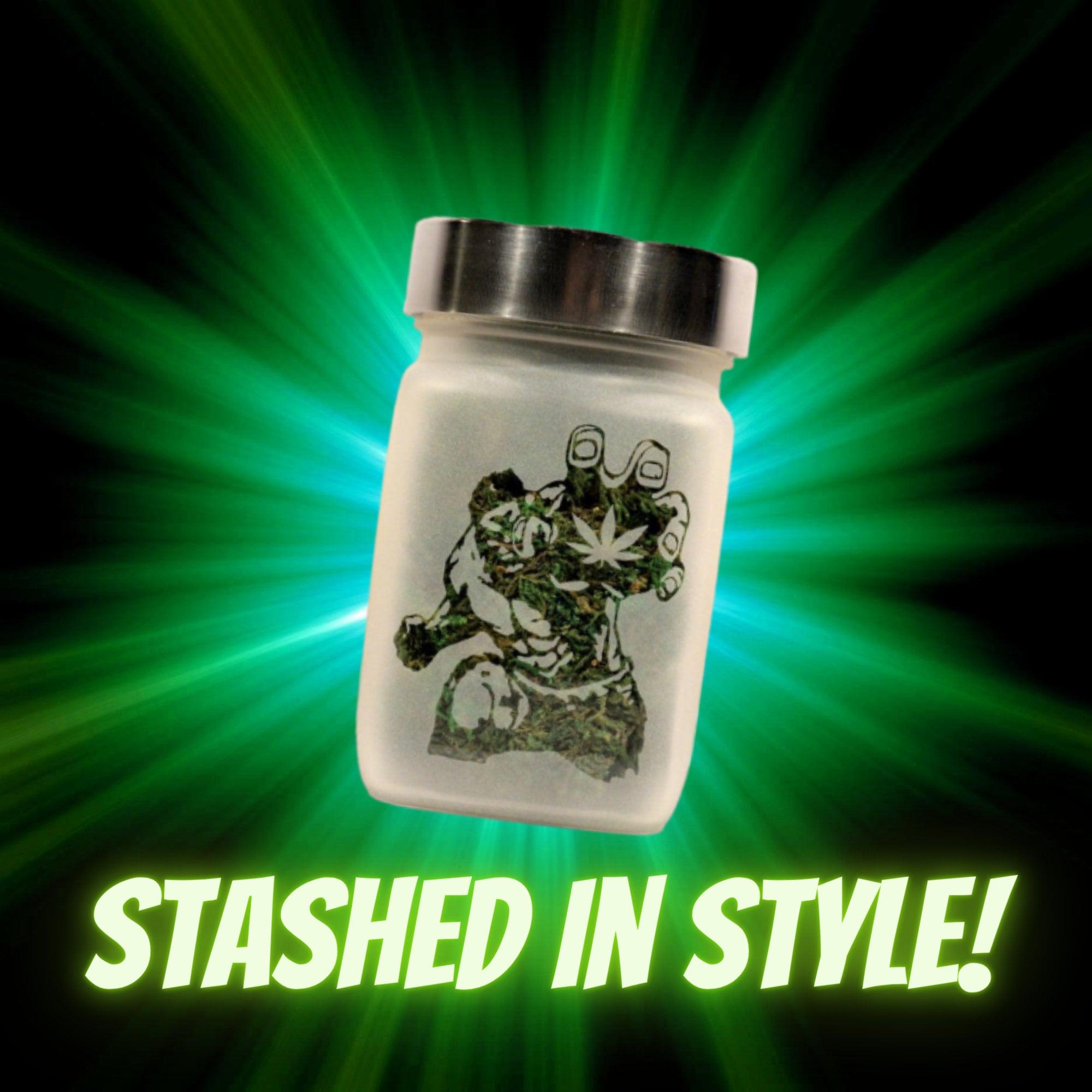 Hulk Stash Jar