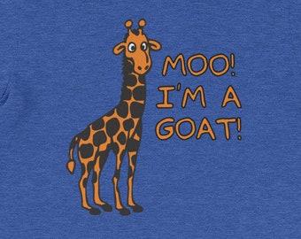 c2192d55 Moo, I'm A Goat T-Shirt funny saying giraffe sarcastic novelty humor Funny  Tshirts for Men Cool Funny T Shirt Mens Shirt Guys Mens TShirt