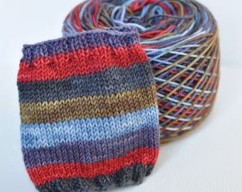 "Self-Striping Yarn - ""Casual Fridays"" (Big Sky Base)"