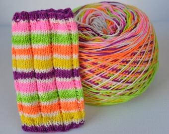 "Self-Striping Yarn - ""Spring Fling"""