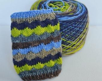 "Self-Striping Yarn - ""I Feel Fine"" (Big Sky Base)"