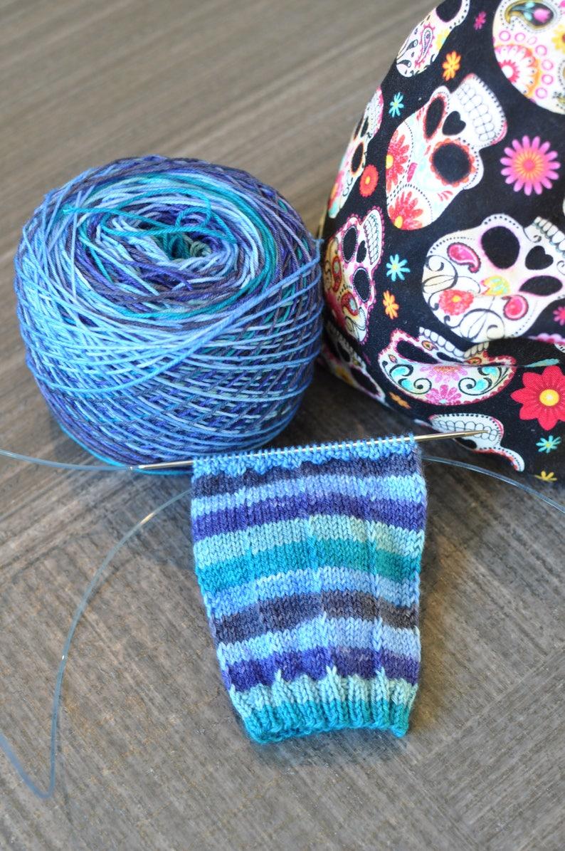 Singin/' the Blues Self-Striping Yarn