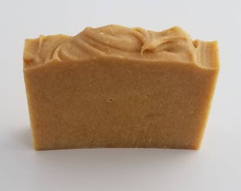 Carrot Oil Complexion Soap, Yellow Clay, Moisturizing, Luxurious, Vit E Oil, Mature Skin, Fine Lines, Camellia Oil