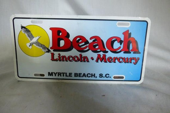 Myrtle Beach Ford >> Ford Dealer License Plate Myrtle Beach Ford