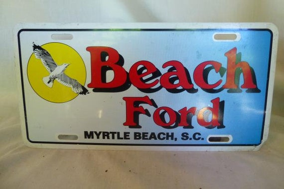 Myrtle Beach Ford >> Beach Ford Myrtle Beach Sc Dealer Plate