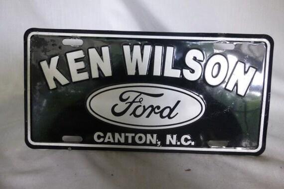 Ken Wilson Ford >> Dealer Plate Ken Wilson Ford