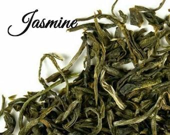 Jasmine Tea... Loose Leaf Tea, Green Tea, Jasmine, Kosher, Gift Box, Birthday
