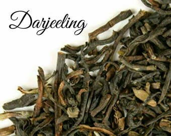 Darjeeling Tea... Loose Leaf Tea, Black Tea, Single Estate, Kosher, Gift Box, Birthday
