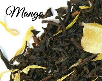 Mango Tea... Loose Leaf Tea, Mango, Black Tea, Gift, Birthday, Wedding Gift