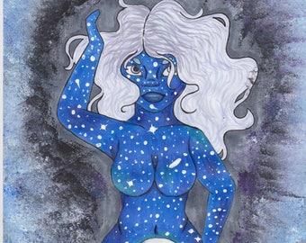 Goddess Nuit Print