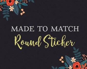 Sticker Design-Made to Match-Branding Package