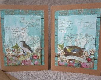 Birds Note Cards (2)