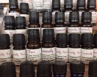 100% Therapeutic Essential Oils & Healing Blends