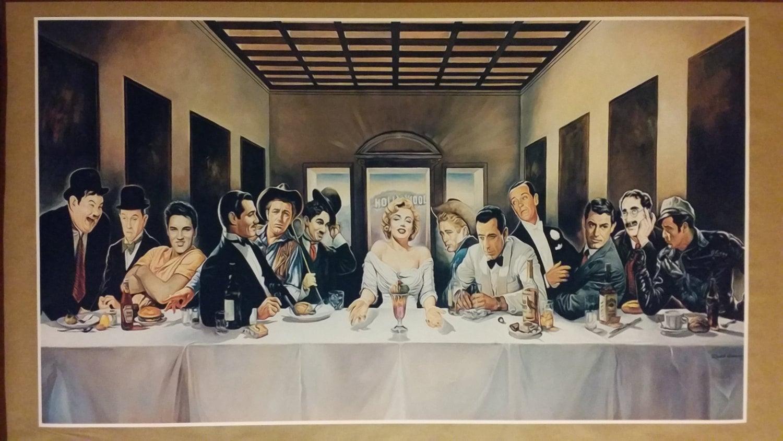Hollywood Legends Cène géant peinture numérique affiche 42 ...