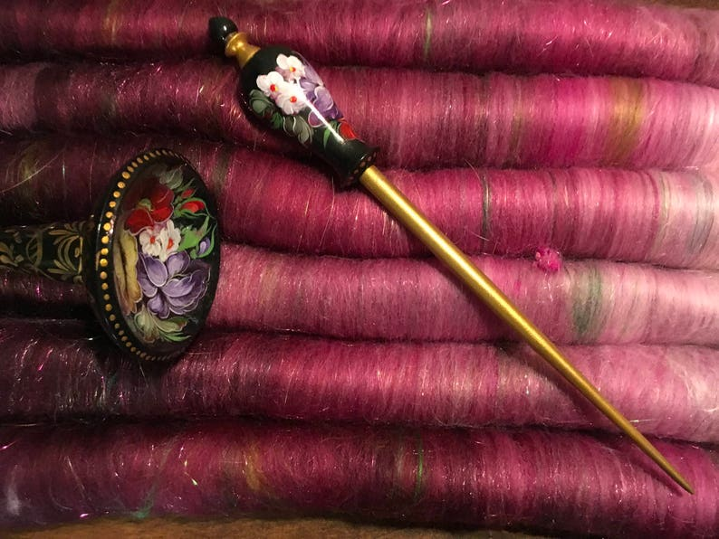 Buttersilk firestar /& angelina 2.86 oz SPIN THE BEST Luxurious  Merino Rose fiber Hand-blended One of a kind Rolag spinning fiber Silk