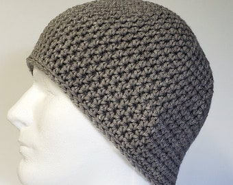 52300ebc424 Oatmeal Crochet Large Mens Winter Hat