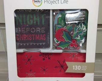 Project Life Christmas Wishes Value Scrapbook Kit