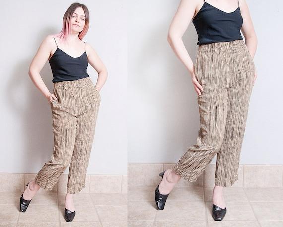 Vintage 1990's | 100% Silk | Printed | Patterned … - image 1