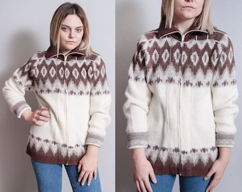 Vintage 1970's/1980's   Unisex   Cardigan   Sweater   M/L
