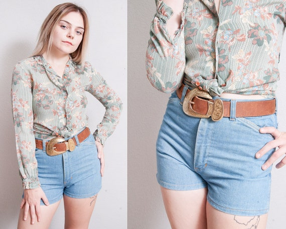 Vintage 1970's | Faded Glory | Light Wash | High R