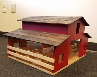 Rustic Toy Barn
