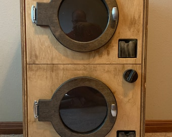 Wood Play Washer and Dryer