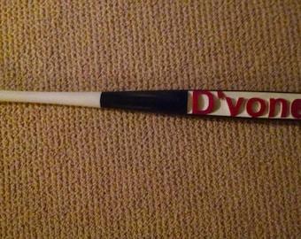Personalized  carved Baseball Bat