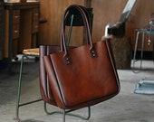 WORKSHOP SALE!  Australian Leather Tote Bag, Bucket Bag, Large CarryALL, Old Stock, Workshop Seconds, Huge Discounts