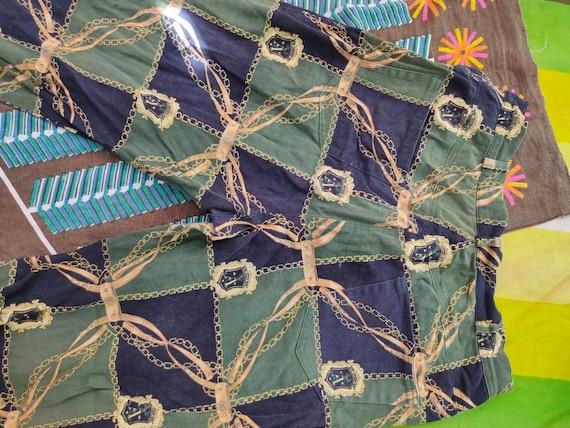 70s Scarf Print Pants - image 3