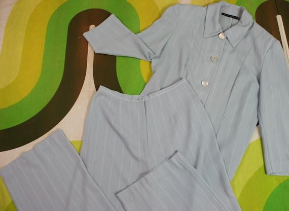 90's Two Piece Pant Suit - image 1