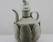 Fine Chinese Antique Song Dynasty 宋代 Shadow celadon Teapot